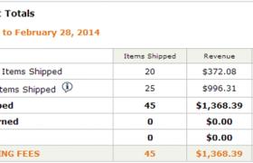 Amazon联盟收入报告(2014年2月)
